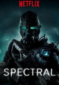 poster for spectral