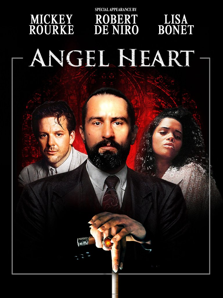 movie poster for angel heart
