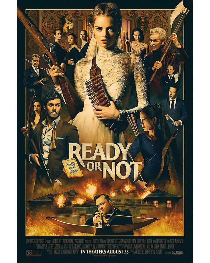 movie poster for ready or not